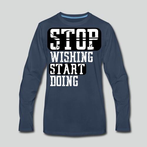 SWSD M - Men's Premium Long Sleeve T-Shirt