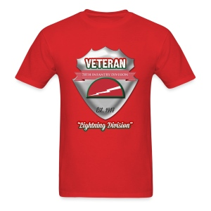 Veteran 78th Infantry Division - Men's T-Shirt