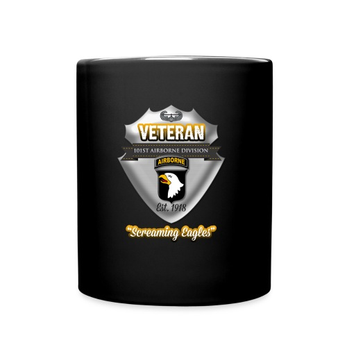 Veteran 101st Airborne Division - Full Color Mug