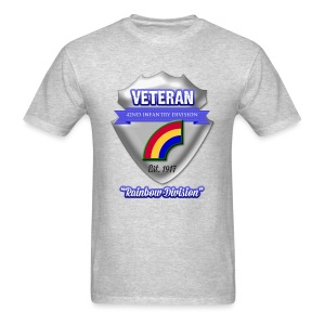 Veteran 42nd Infantry Division - Men's T-Shirt