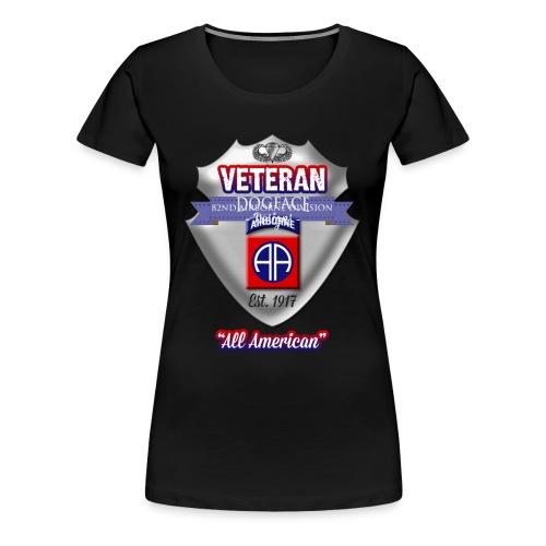 Veteran 82nd Airborne Division - Women's Premium T-Shirt