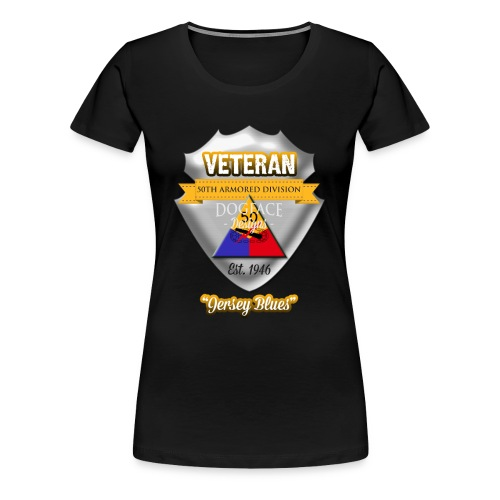 Veteran 50th Armored Division - Women's Premium T-Shirt