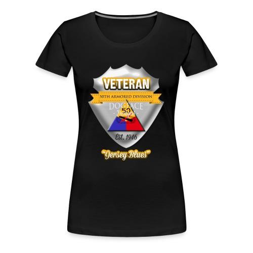 Veteran 50th Armored Division - Women's Premium T-Shirt