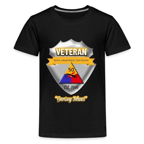 Veteran 50th Armored Division - Kids' Premium T-Shirt