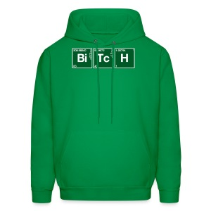 Atomic Symbol Bitch (2) - Men's Hoodie