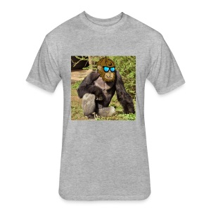 HaramCat Men's T-Shirt - Fitted Cotton/Poly T-Shirt by Next Level