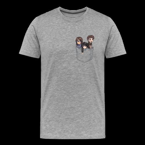 Chibi Pocket - Men's Premium T-Shirt