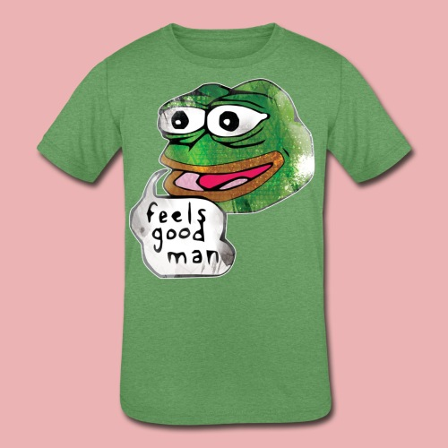 Pepe the Frog - Kids' Tri-Blend T-Shirt
