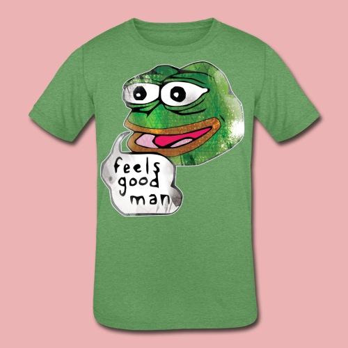 Pepe the Frog - Kids' Tri-Blend T-Shirt