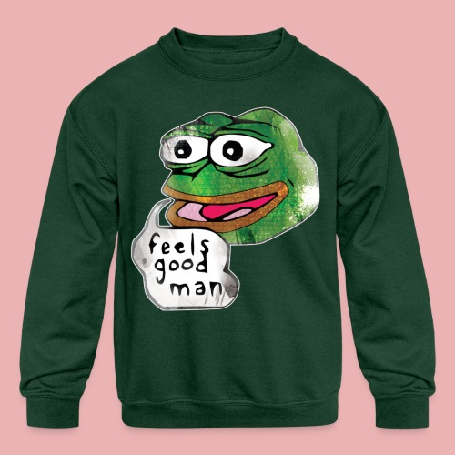 Pepe the Frog - Kid's Crewneck Sweatshirt
