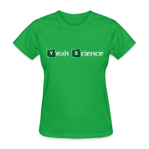 Atomic Yeah Science - Women's T-Shirt