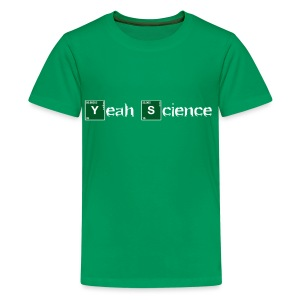 Atomic Yeah Science - Kids' Premium T-Shirt