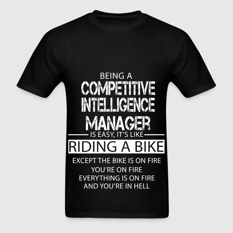 Competitive Intelligence Manager T-Shirts - Men's T-Shirt