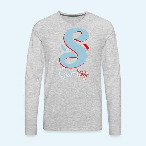 Gaming Logo - Men's Premium Long Sleeve T-Shirt