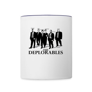 The Deplorables T-shirt - Contrast Coffee Mug