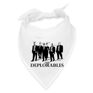 The Deplorables T-shirt - Bandana