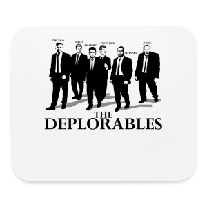 The Deplorables T-shirt - Mouse pad Horizontal