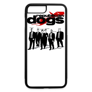 Republican Dogs T-shirt - iPhone 7 Plus/8 Plus Rubber Case