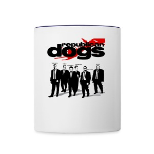 Republican Dogs T-shirt - Contrast Coffee Mug