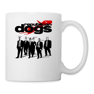 Republican Dogs T-shirt - Coffee/Tea Mug