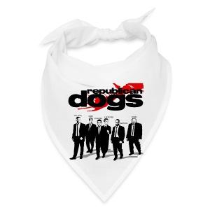 Republican Dogs T-shirt - Bandana