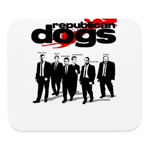 Republican Dogs T-shirt - Mouse pad Horizontal