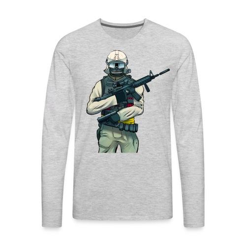 WDF Solider - Men's Premium Long Sleeve T-Shirt