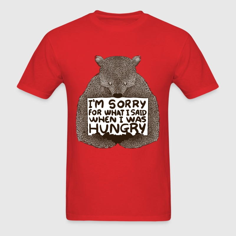 Hungry bear - Men's T-Shirt