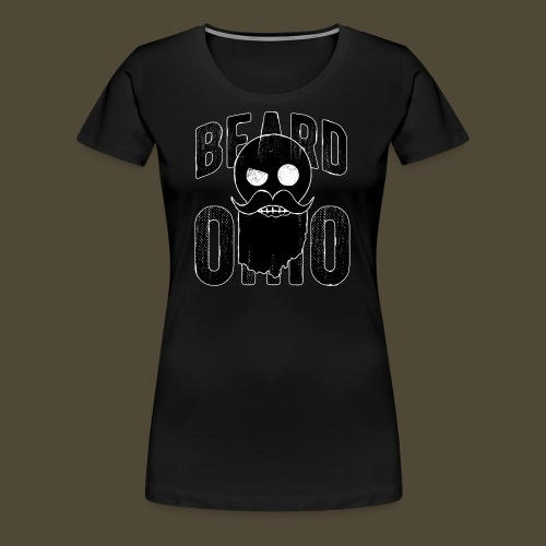 Beard Ohio - Women's Premium T-Shirt