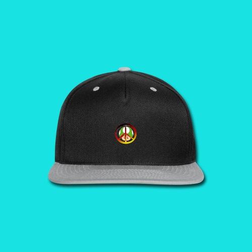 Mushroom Tee - Snap-back Baseball Cap