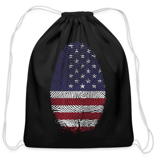 American Pride - Cotton Drawstring Bag