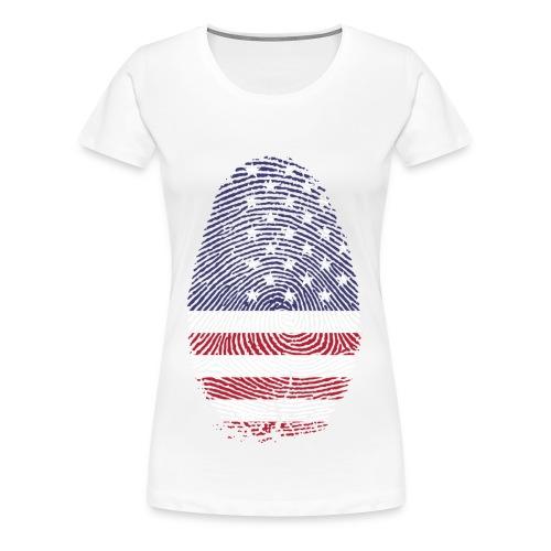 American Pride - Women's Premium T-Shirt