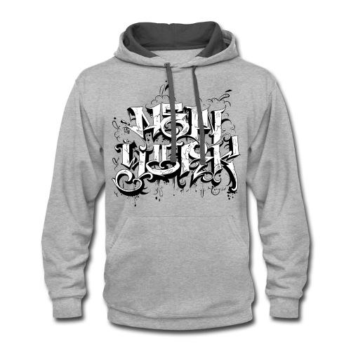Rez - Design for New York Graffiti Logo - Contrast Hoodie