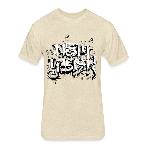 Rez - Design for New York Graffiti Logo - Fitted Cotton/Poly T-Shirt by Next Level