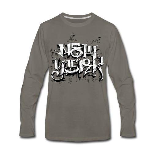 Rez - Design for New York Graffiti Logo - Men's Premium Long Sleeve T-Shirt