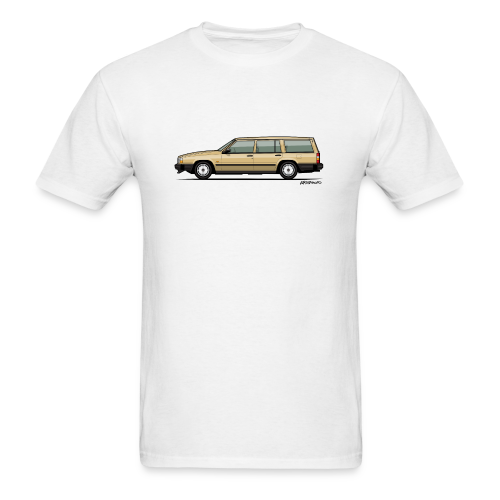 Volvo 740 745 Wagon Gold - Men's T-Shirt