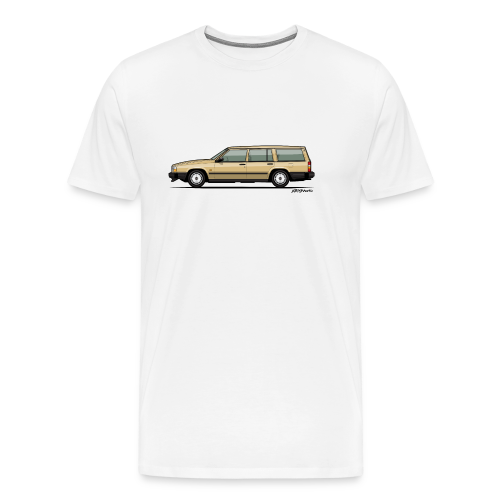Volvo 740 745 Wagon Gold - Men's Premium T-Shirt