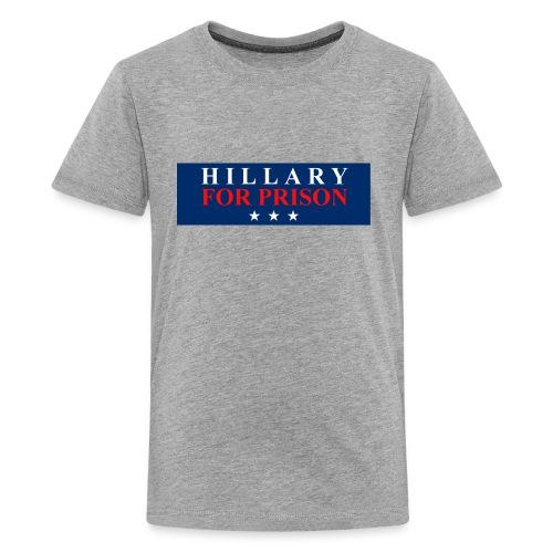 Hillary for Prison - Kids' Premium T-Shirt