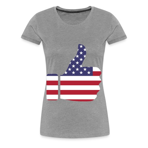 Thumbs Up USA - Women's Premium T-Shirt