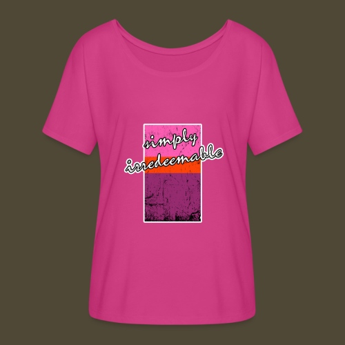 Simply Irredeemable - Women's Flowy T-Shirt