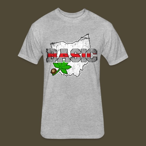 The Basic Buckeye - Fitted Cotton/Poly T-Shirt by Next Level