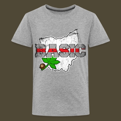 The Basic Buckeye - Kids' Premium T-Shirt
