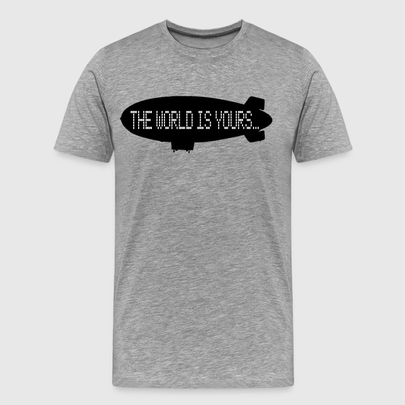 The World Is Yours - Scarface T-Shirts - Men's Premium T-Shirt