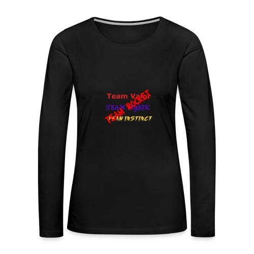 Teams womens - Women's Premium Long Sleeve T-Shirt