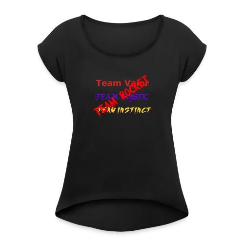 Teams womens - Women's Roll Cuff T-Shirt