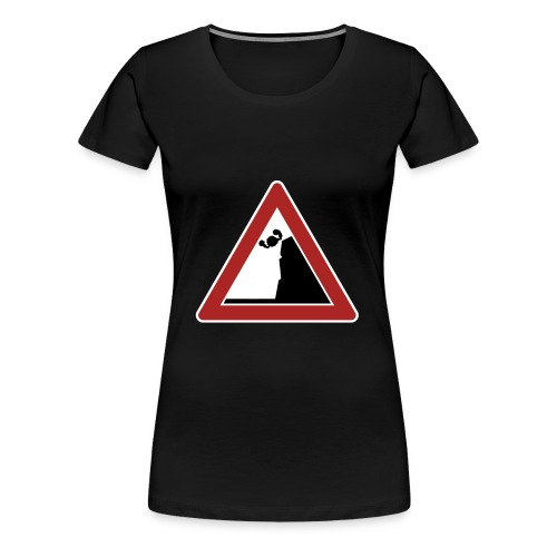 Falling   womens - Women's Premium T-Shirt
