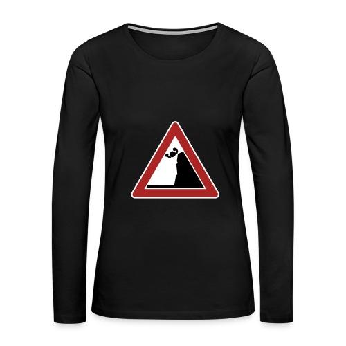 Falling   womens - Women's Premium Long Sleeve T-Shirt