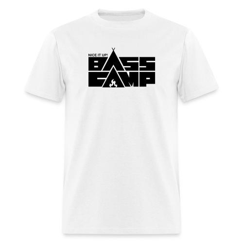 Bass Camp White Hoodie - MEN - Men's T-Shirt