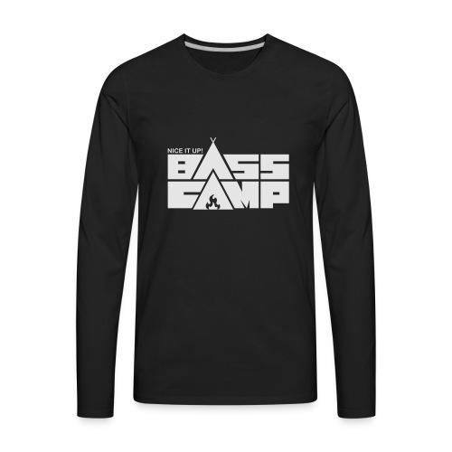 Men's American apparel top - Black - Men's Premium Long Sleeve T-Shirt