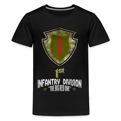 Fracture: 1st Infantry Division - Kids' Premium T-Shirt